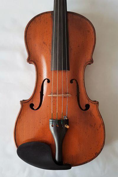 französische Viola Frebrunet Schule